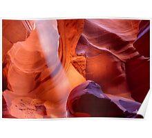 Upper Antelope Canyon Magic Poster