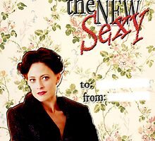 Irene Adler Valentine's Day Card - The New Sexy Floral by thescudders