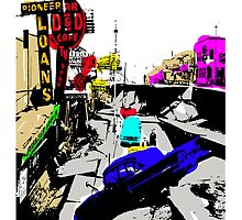 4TH AVENUE 64 QUAKE POP ART by Ed Rosek