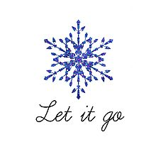 Let it go Photographic Print