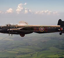 Dambusters Lancaster AJ-G carrying Upkeep by Gary Eason + Flight Artworks