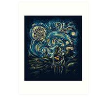 Hylian Night Art Print