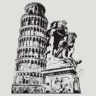 Pisa Tower by LeMaxBleu