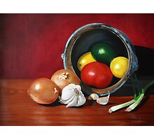 Fruits and Vegetables Photographic Print