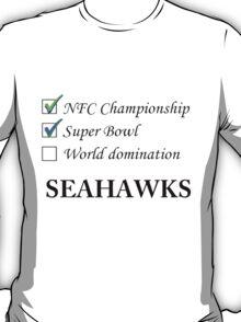 SEAHAWKS! T-Shirt