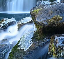 Middle McCloud Falls II by Tracy Jones