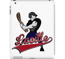 The Walking Dead Lucille iPad Case/Skin