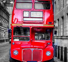 London Routemaster by English Landscape Prints