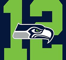 Seattle Seahawks Superbowl Champions by AbsoluteLegend