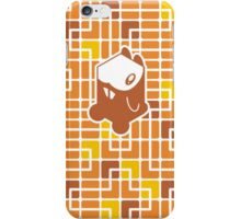 Cube Animals: The hamster iPhone Case/Skin