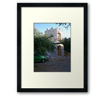 cottage-castle Framed Print