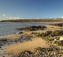 The Cumbrian Coast - Hodbarrow by Jamie  Green