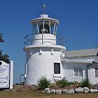 1879 Clarence River Lighthouse Replica - Yamba NSW by Liz Worth