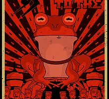 All glory to the Hypnotoad by eruparo