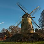 Immerath Windmill, Erkelenz, NRW, Germany by David A. L. Davies