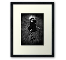 _black s Framed Print