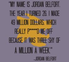 My name is Jordan Belfort by MissKellyEwing