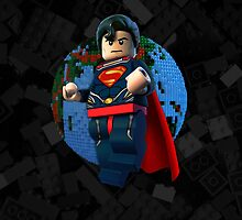 Man of Steel Lego by markusian