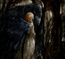 """""""Then one day a crow came my way..."""" by iduka"""