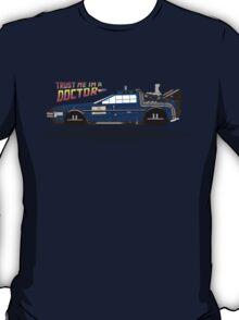 Delorean Tardis T-Shirt