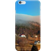 Clouds over the mountains | landscape photography iPhone Case/Skin