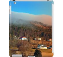 Clouds over the mountains | landscape photography iPad Case/Skin