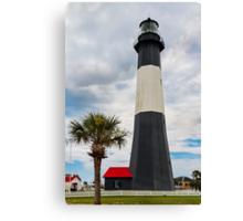 The Tybee Island Light Canvas Print