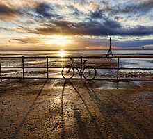 Crosby sunset by Beverley Goodwin
