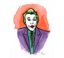 Cesar Romero inspired Joker Photographic Print