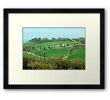 Toscana - Italy Framed Print