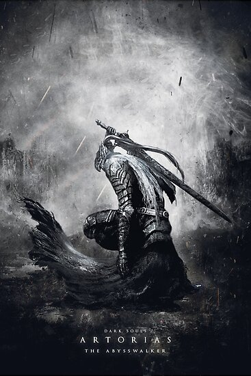 Artorias The Abysswalker / Dark Souls  by munoz