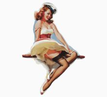 Gil Elvgren Sexy Pin up girl by JdesignsNL