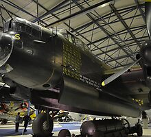 Avro Lancaster ( Hendon ) by mike  jordan.