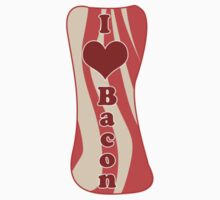I Heart Bacon! by dragonmanmike