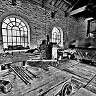 Locomotive Shed (HDR) by Stephen Knowles