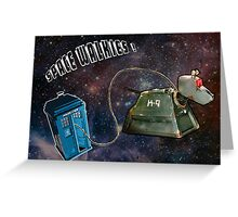 Space Walkies! Greeting Card