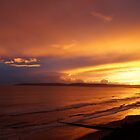 Sunset over Bournemouth by ArtemBonda