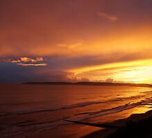 Sunset over Bournemouth by ArtemBonda
