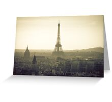 Dream of Paris Greeting Card