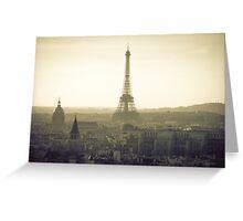 Dream of Paris Greeting Card