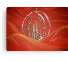 The Citadel of the Time Lords Canvas Print