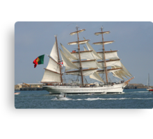 THE BARQUE FROM PORTUGAL Canvas Print