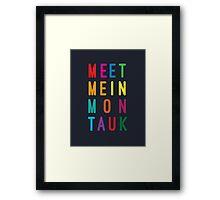 Meet Me in Montauk Framed Print