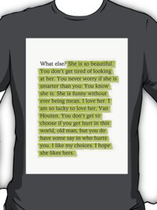 The Fault in Our Stars Green Passage T-Shirt
