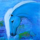 Blue Horse by nancyqart