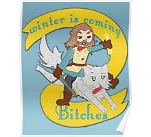 Winter is coming....bitches Poster