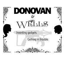 Donovan & Wells Photographic Print