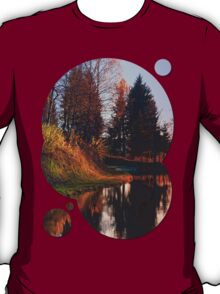 Romantic evening at the lake II | waterscape photography T-Shirt