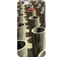 Stockyard of Cylinders iPhone Case/Skin