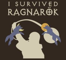I Survived Ragnarök (wolves) by jezkemp